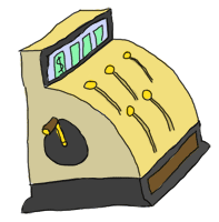a cash register