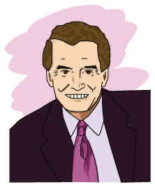 A portrait of Regis Philbin